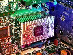 Circuit Board Computer Science Wallpaper