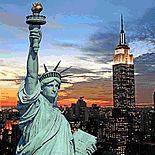 New York City, USA Mumbai, Cleveland, Geometric Wallpaper Murals, Liberty New York, Skyline, Wallpaper Roll, City Wallpaper, Luxury Travel, Best Hotels