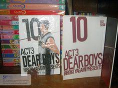 Dear Boys. Manga that I currently read.