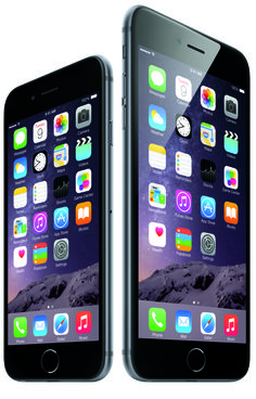 The Latest iPhone 6S Rumors: Last year's models: the iPhone 6 and 6 Plus