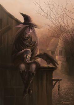 Witch by KitsuneDN.deviantart.com on @DeviantArt