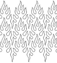 Common Quilts: Pantograph Patterns
