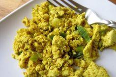 tofu scramble (faux eggs!) http://bit.ly/I5d0gJ