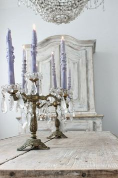 Shabby Chic Interior Design Ideas For Your Home Chandelier, Chic Interior Design, Decor, French Decor, Shabby Chic Candle, Candlelight, Candles, Shabby, Shabby Chic Homes