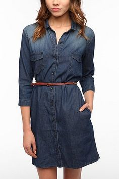 Chambray Dress- it's a nice option instead of flannel. Granted, I still like my flannel though in the winter