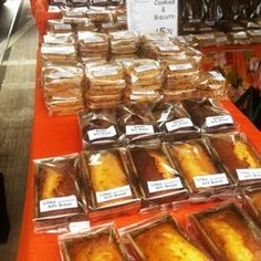 how to sell baked goods at a farmers market