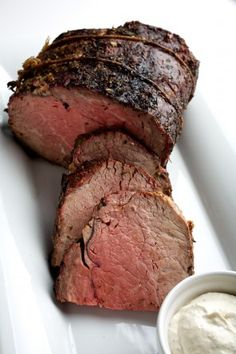 Smoked prime rib recipe with encrusted herbs. This is the season to grill a prime rib, it is a kingly meat, made all the more glorious when smoked. Carne Asada, Rib Recipes, Grilling Recipes, Venison Recipes, Sausage Recipes, Smoked Prime Rib, Smoked Beef, Smoked Ribs, Coconut Dessert