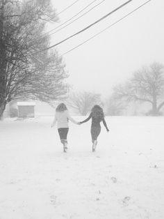 Snow Day Best friends