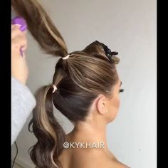 "15.8 mil Me gusta, 101 comentarios - Hair And Makeup Tutorials (@hairmakeupdiary) en Instagram: ""Amazing hairdo! ✨ by @kykhair"""