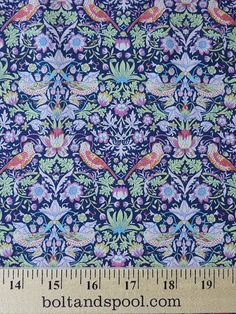 Liberty of London : Tana Lawn - Strawberry Thief H