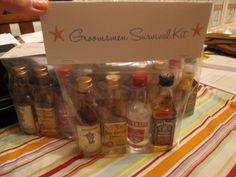 groomsmen survival kits