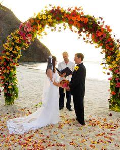 コスタリカ「フォーシーズンズリゾート コスタリカ」 Wedding on Virador Beach @ Four Seasons Resort Costa Rica