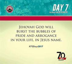 THE MESSENGER: Dr D.K OLUKOYA: 70 DAYS PRAYER AND FASTING (Day 7)...
