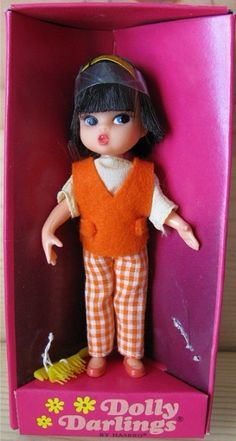 HASBRO: 1966 Dolly Darling Casual Doll