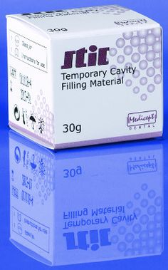 Buy Temporary dental cavity filling material with a synthetic resin base and plaster filler at low price. Now available on standard 30gm white paste Jar.