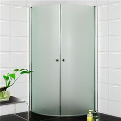Bildresultat för glasdörrar dusch frostat
