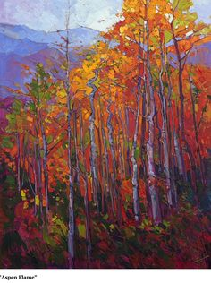 New from Erin Hanson. Beautiful!