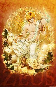 MYth character: Zeus by zeldacw.deviantart.com on @DeviantArt