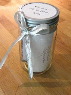 Memory Jars - wonderful ideas on this blog!