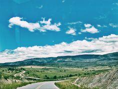 Camino a San Clemente por Altas cumbres, Córdoba, Argentina.