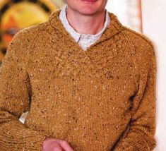 Knitting Patterns, Mens Sweaters: Terry's Pullover - 4 free men's sweater patterns to download