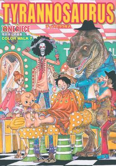 TYRANNOSAURUS COLORWALK 7 ONEPIECE Here's a wonderful artbook for fans of the long-running One Piece anime series, with awesome art by Eichiro Oda. 5% off with this coupon *MOE-IFF-AC7SNY*