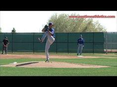 Yu Darvish Slow Motion Baseball Pitching Mechanics - Texas Rangers Pitch...