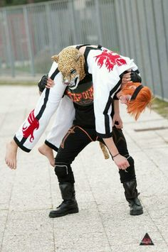 Tekken Cosplay King and Howrang