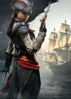 Aveline from Assassin's Creed IV