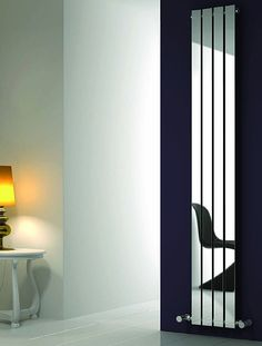 Reina Radiators Osimo vertical radiator in chrome.Multi column, single panel desig Bathroom and Kitchen goods for the UK. Shop here for real value on modern and traditional taps. Bathroom Radiators, Vertical Radiators, Ideal Bathrooms, Heated Towel Rail, Lounge Design, Cool Kitchens, Chrome, New Homes, Modern