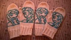 Tuulen silmään: Frozen-lapaset Frozen, Gloves, Winter, Winter Time, Winter Fashion