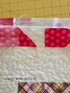 This tutorial is for how to make continuous crossgrain binding.      It is how I bind the majority of my quilts.    Part I-How to make the b...
