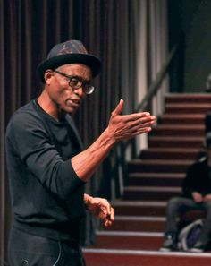 Bill T. Jones  b. 1952 Choreographer, dancer, director Left: October 2009, lecturing at Skidmore College