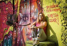 Graffiteira Panmela Castro abre exposição na Lapa