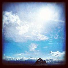 El cielo azul #blueskies in the #southbay today - @nochesazules- #webstagram