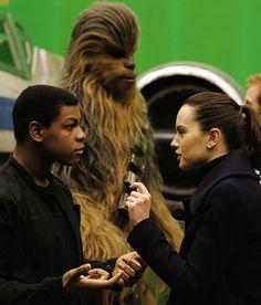 """Star Wars VIII"" Film Set - April 19, 2016 in Iver Heath, England."
