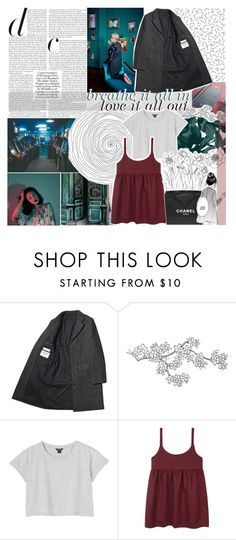 """undulate"" by randomn3ss ❤ liked on Polyvore featuring Margaret Howell, Monki and Chanel"