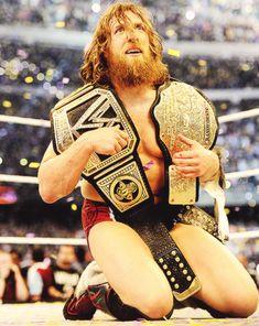 Daniel Bryan after winning at Wrestlemania 30