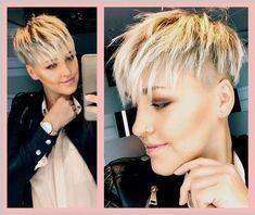 Pixie Undercut Hair, Pixie Haircut, Short Cropped Hair, Long Hair Cuts, Crop Hair, Shirt Hair, Short Spiky Hairstyles, Blonde Pixie Cuts, Fresh Hair