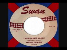 Tallahassee Lassie by Freddy Cannon | Daily Doo Wop