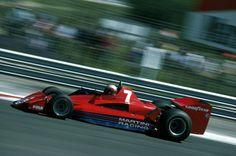 John Marshall Watson (GBR) (Martini Raing), Brabham BT45B - Alfa Romeo 115-12 3.0 F12 (finished 2nd)  1977 French Grand Prix, Circuit de Dijon-Prenois