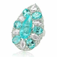 Paraiba Ring by SUTRA JEWELS