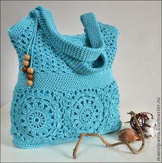 "Сумка ""Урсула"". Handmade. #crochet"
