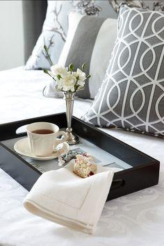 Breakfast in Bed. traditional bedroom by Jane Lockhart Interior Design. Breakfast in Bed. Saint Valentine, Valentines, Interior Decorating, Interior Design, Decorating Ideas, Traditional Bedroom, Fancy, Breakfast In Bed, Tray Decor
