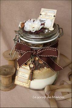 Lecture d& message - mail Orange Sos Cookies, Cookies Et Biscuits, Food Crafts, Diy Food, Sos Recipe, Meals In A Jar, Cookies Ingredients, Jar Gifts, Cookie Jars