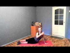 Упражнение на талию: вытягивает и уменьшает объемы!