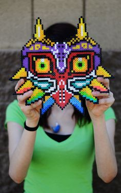 Legend of Zelda: Majora's Mask Pixel Art. $23.00, via Etsy.