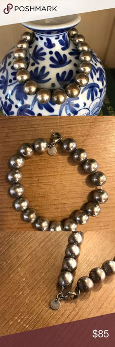 Tiffany & Co. bead bracelet Authentic Tiffany bead sterling silver bead bracelet. Needs polishing, but always a classic! Tiffany & Co. Jewelry Bracelets
