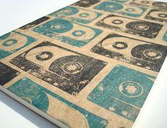 Cassette Tape Journal large moleskine mixtape notebook