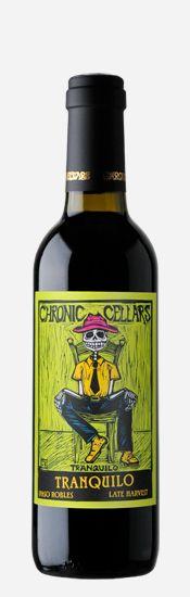 Chronic Cellars wine packaging #taninotanino #vinosmaximum